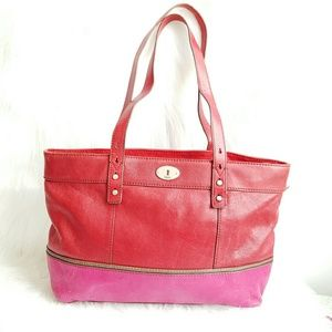 Fossil tote bag
