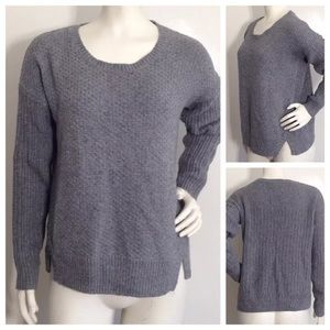 Madewell Gray Pullover Sweater Style B6696