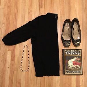 1X // Talbots cashmere Audrey sweater