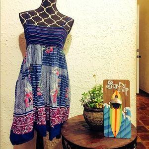 Forever 21 floral patterned summer dress