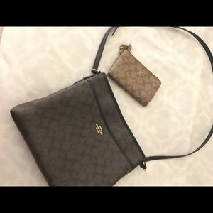 Coach Purse (with bonus wallet/wristlet)