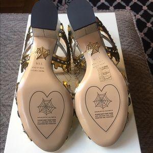 Amazing Charlotte Olympia Low Gear Metallic Heels!