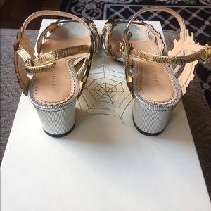 Charlotte Olympia Shoes - Amazing Charlotte Olympia Low Gear Metallic Heels!