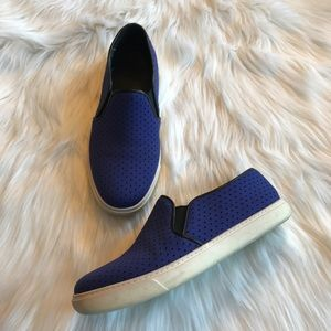 Cole Haan Blue Casual Slip On Sneakers