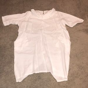 White Linen Dress from Italy