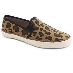 XOXO Leopard Print Slip-Ons