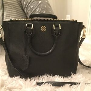 Tory Burch Robinson Pebbled Leather Tote
