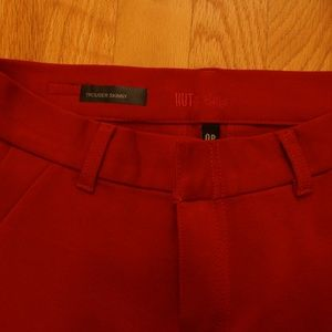 Kut From The Kloth Trouser Skinny's NWOT