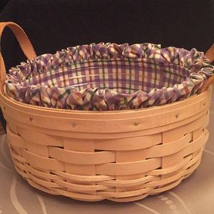 10in Longaberger Basket