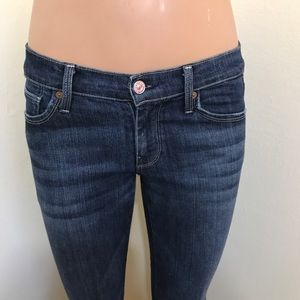 7 For All Mankind Jeans Straight Leg W27 L32 EUC