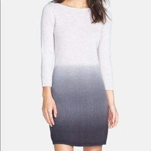 Only Mine Dip Dye Wool & Cashmere dress