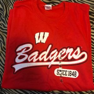 Wisconsin badgers T-shirt
