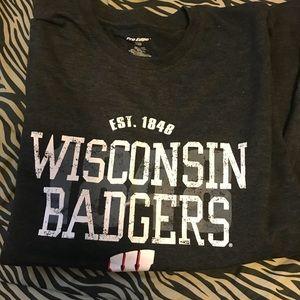 Wisconsin badgers tshirt
