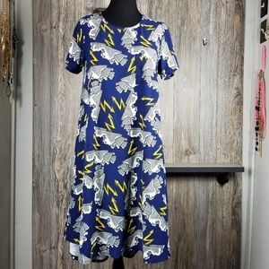 Cloud & Lightning LuLaRoe Carly