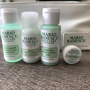 Mario Badescu Gift Set Bundle Plus Bag Nwt