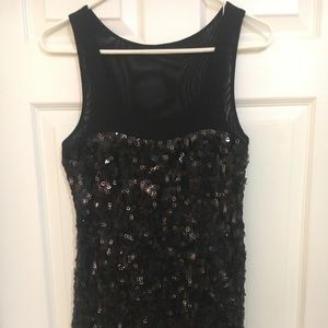 Express sequin cocktail dress