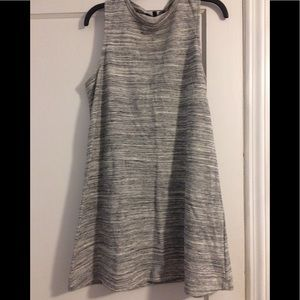 Heather grey swing dress