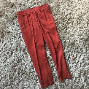 LOFT drawstring pants