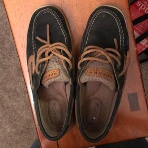 Sperry Black size 6 women's used