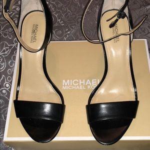 Michael kors strap on heels size 7.5
