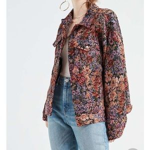 Jackets & Blazers - ISO UO BDG Floral Jacquard Jacket