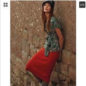 Sparrow Anthropologie Xs Needled  Sweater Skirt