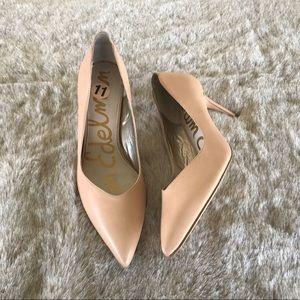 """Sam Edelman Orella """"nude"""" heels size 11"""