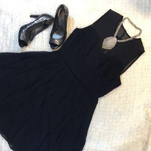 "J. Crew ""Clara"" Dress Black Size 6"