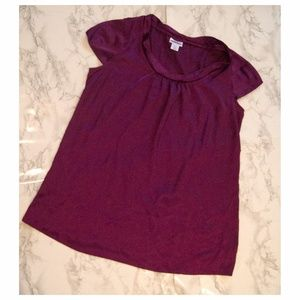 MOTHERHOOD Maternity Silky Shirt