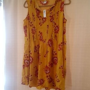 NWT Yellow Old Navy Dress