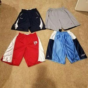 Men's Nike/Jordan basketball shorts.