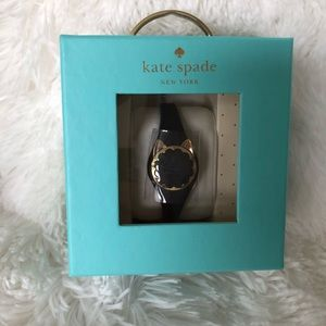 Kate Spade black cat activity tracker