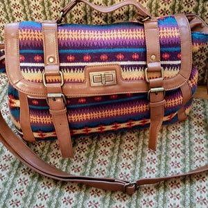 ALDO  Aztec print handbag/shoulder bag