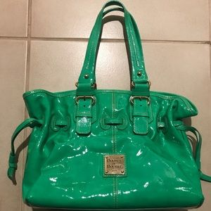 Dooney and Bourke green bag