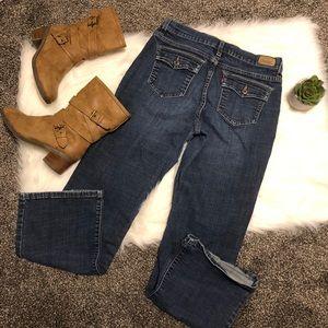 Bootcut levi jeans