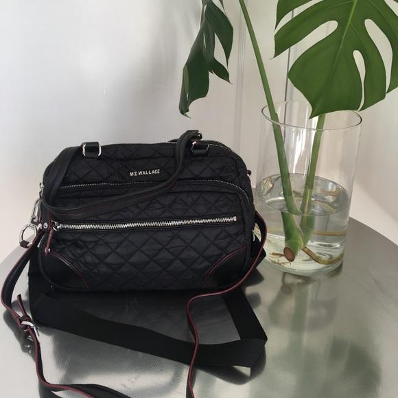 39cc198463f MZ Wallace Crosby Handbag & Crossbody Black. M_5a2deefb4225beb71e01d0dc