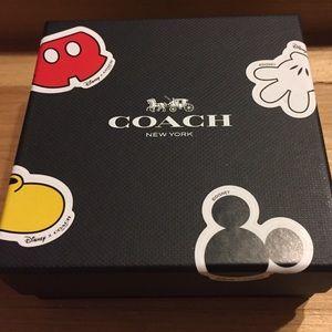 f0106b853b Coach Jewelry - Disney x Coach Red Leather Mickey Ears Bracelet
