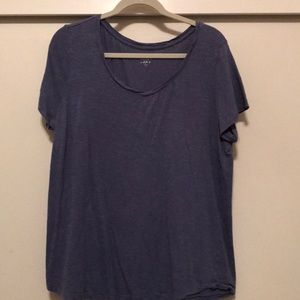 Blue top from Loft
