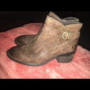 Leather Born Booties