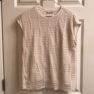 Zara Shirt - Cream color