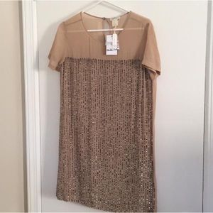 Club Monaco Embellished Sequined Dress - NWT