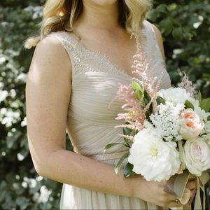 BHLDN Bridesmaid Fleur Gown