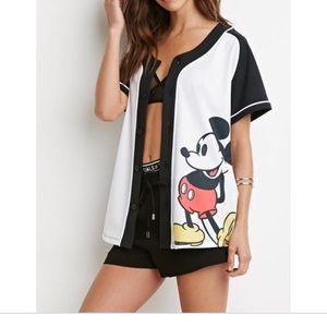 Mickey Mouse Baseball Jersey.