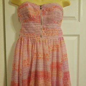 Gorgeous Guess Strapless Short Dress