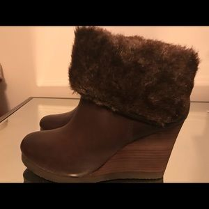 New Lucky Brand boots size 10m leather