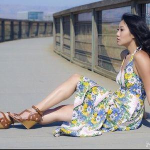 Anthropologie Postmark Soraya Maxi Dress