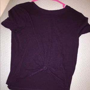 Forever21 Knot Crop Top