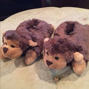 Other - Toddler Monkey Slippers Size S.