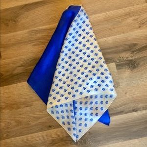 Vintage French Silk Scarf