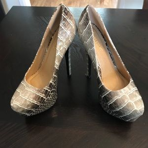 Brand new ShoeDazzle platform stiletto heels- Sz 8